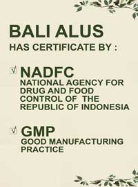 Bali Alus Have implemented