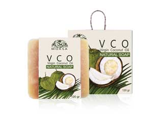 NATURAL SOAP OLIVE, HAZELNUT AND VCO