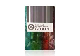 SABUN NATURAL GRAPE DAN GRASS