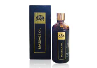 MASSAGE OIL WITH HAZELNUT OIL