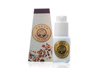 HAND CREAM WITH HAZELNUT OIL