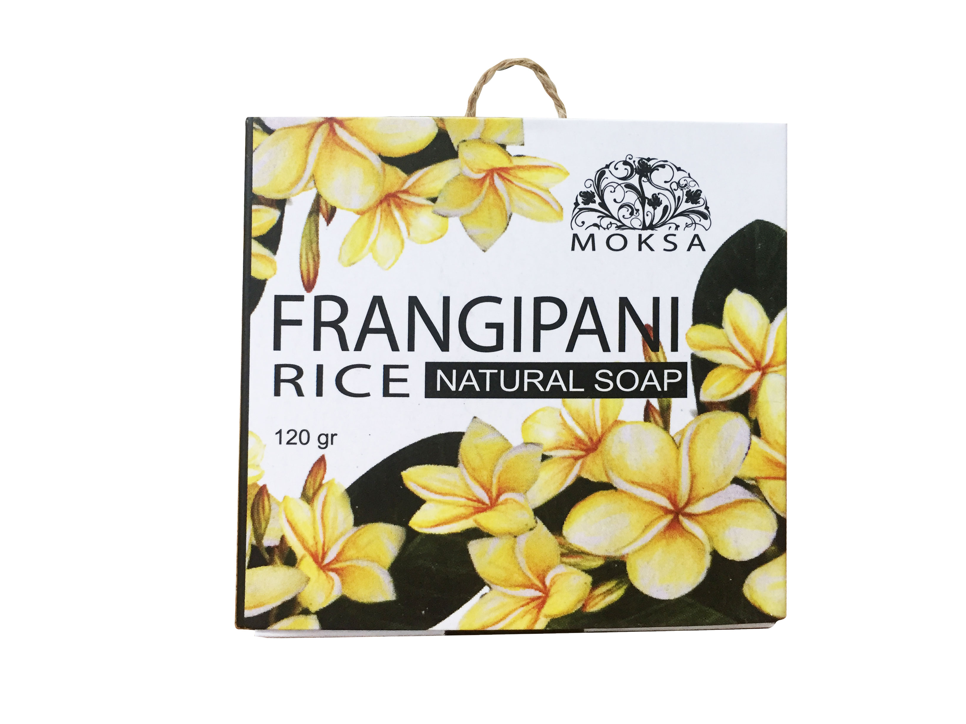 Natural Soap Rice Frangipani
