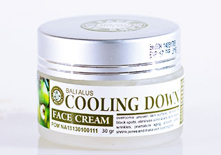CREAM FACE COOLING DOWN